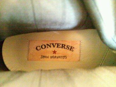 画像3: CONVERSE×JOHN VARVATOS(コンバース×ジョンバルバトス) パープルレザーALL STAR(オールスター)ハイカットスニーカー7 1/2