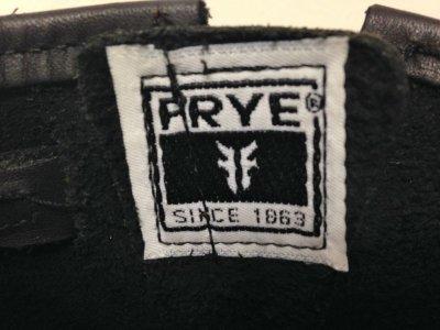 画像2: FRYE(フライ)ブラックエンジニアショートブーツ ENGINEER 12R BOOTS6 1/2