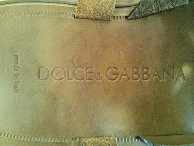画像1: DOLCE&GABBANA(ドルチェ&ガッバーナ)ブラウングラデーションレザーサンダル8