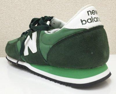 画像2: New Balance(ニューバランス)グリーンスエード×ナイロンローカットスニーカーU420SNG US9