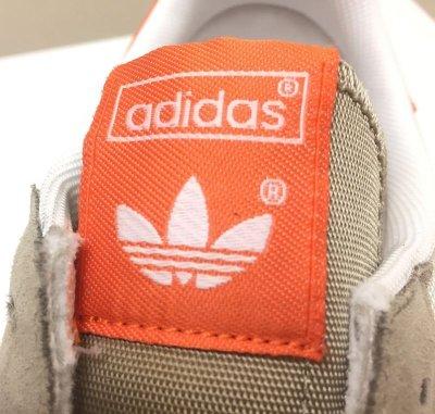 画像1: adidas(アディダス)ベージュ×オレンジスニーカーDRAGON US13