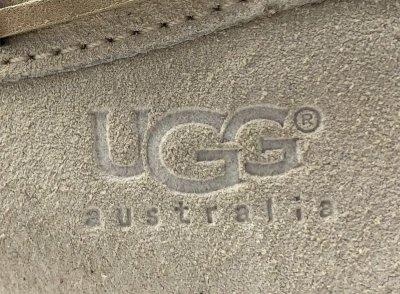画像1: UGG AUSTRALIA(アグオーストラリア)ピンクベージュムートンモカシンキッズダコタK DAKOTA USA11